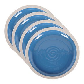 Certified International Artisan Blue 4-pc. Salad Plate Set