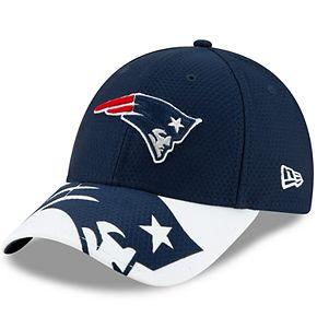 Youth New Era New England Patriots 9FORTY Logo Crop Adjustable Cap