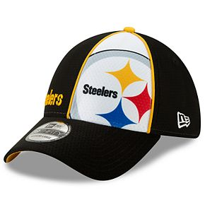 Youth New Era Pittsburg Steelers 39THIRTY Panel Flex-Fit Cap