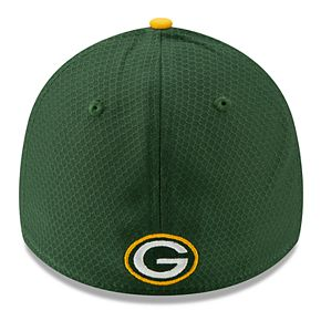 Youth New Era Green Bay Packers 39THIRTY Panel Flex-Fit Cap