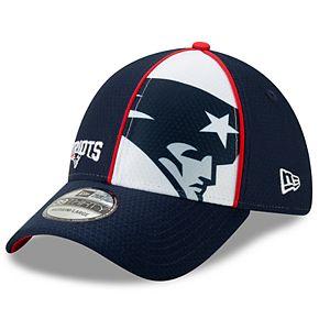 Youth New Era New England Patriots 39THIRTY Panel Flex-Fit Cap
