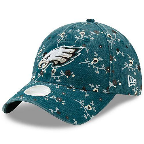 Women's New Era Philadelphia Eagles 9TWENTY Blossom Adjustable Cap
