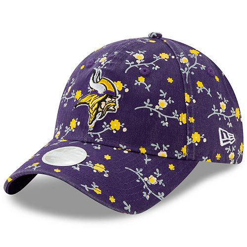 Women's New Era Minnesota Vikings 9Twenty Blossom Adjustable Cap
