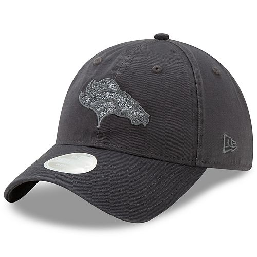 Women's New Era Denver Broncos 9TWENTY Glisten Adjustable Cap