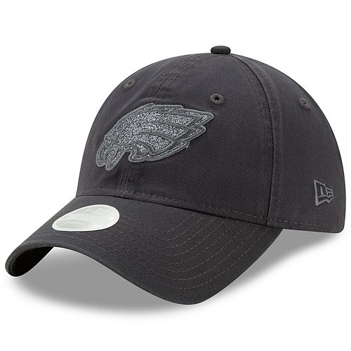 Women's New Era Philadelphia Eagles 9TWENTY Glisten Adjustable Cap