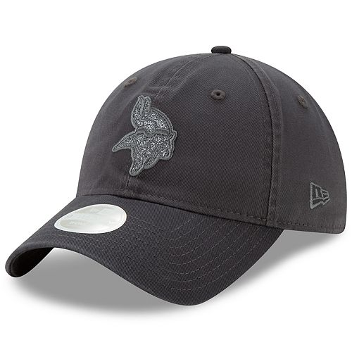 Women's New Era Minnesota Vikings 9TWENTY Glisten Adjustable Cap