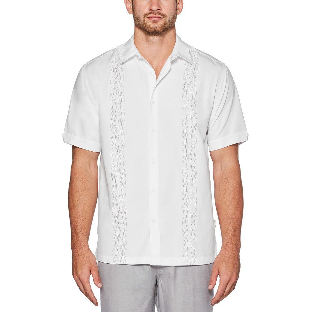 Men's Cubavera Print Dice Shirt