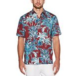 Men's Cubavera Palm Print Shirt