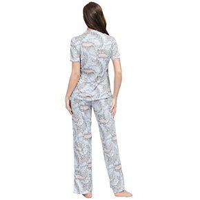 Women's INK + IVY Sleep Shirt & Pajama Pants Set