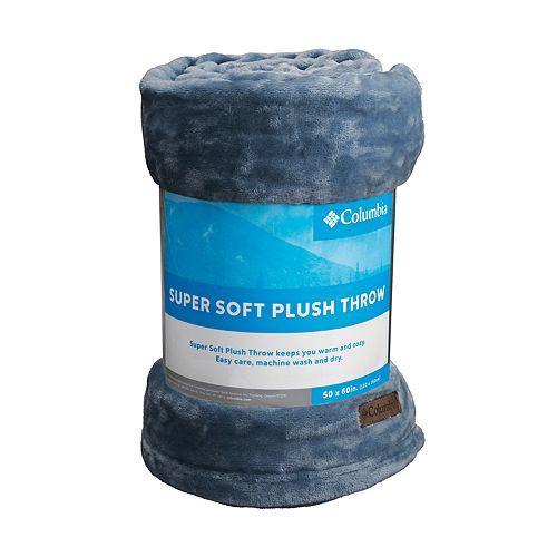 Columbia Super Soft Plush Throw
