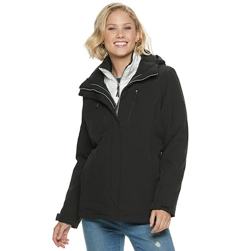Women's Zero Xposur Trish 4-Way Stretch 3-in-1 Systems Jacket