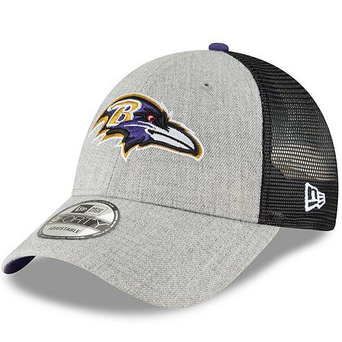 Adult New Era Baltimore Ravens 9FORTY Adjustable Cap