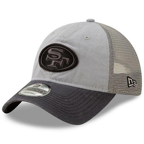 pretty cheap stable quality fantastic savings Men's New Era San Francisco 49ers 9Twenty Grayed Pop Cap