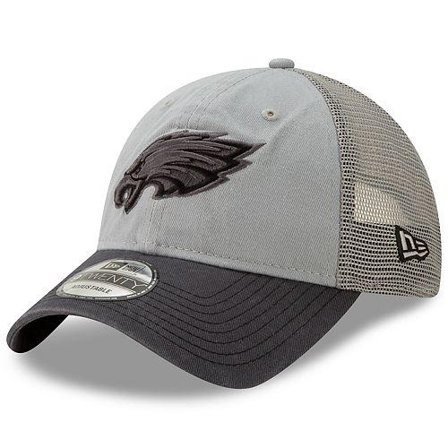Men's New Era Philadelphia Eagles 9Twenty Grayed Pop Cap