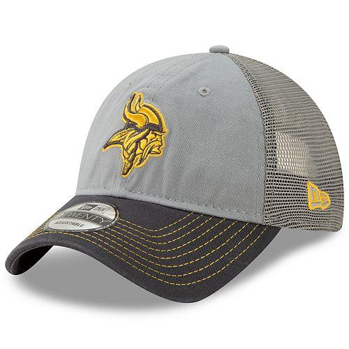 Men's New Era Minnesota Vikings 9Twenty Grayed Pop Cap