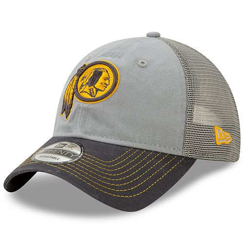 Men's New Era Washington Redskins 9Twenty Grayed Pop Cap
