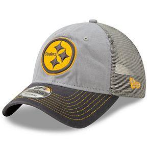 Men's New Era Pittsburgh Steelers 9Twenty Grayed Pop Cap