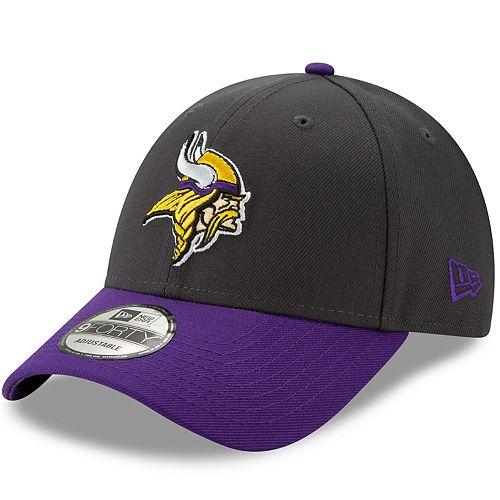 Men's New Era Minnesota Vikings 9Forty Heathered League Adjustable Hat