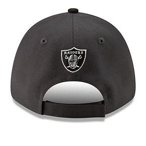 Men's New Era Oakland Raiders 9Forty Heathered League Adjustable Hat