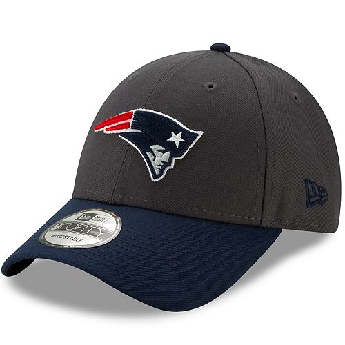 Men's New Era New England Patriots 9Forty Heathered League Adjustable Hat