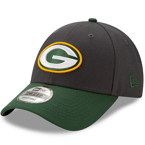 Men's New Era Green Bay Packers 9Forty Heathered League Adjustable Hat