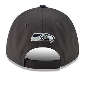 Men's New Era Seattle Seahawks 9Forty Heathered League Adjustable Hat
