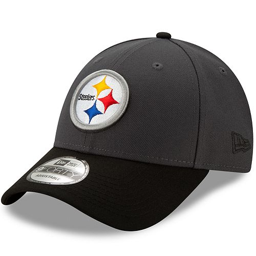 Men's New Era Pittsburgh Steelers 9Forty Heathered League Adjustable Hat