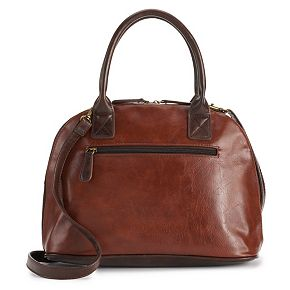 Stone & Co. Plugged In Domed Convertible Leather Satchel