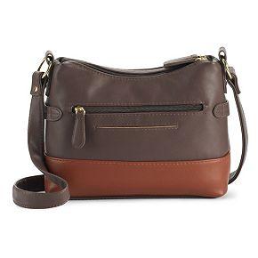 Stone & Co. Zip-Around Crossbody Leather Hobo