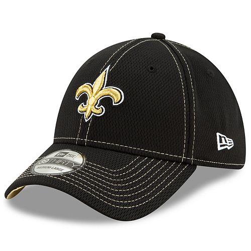 Men's New Era® New Orleans Saint 39Thirty On-Field Sideline Away Cap