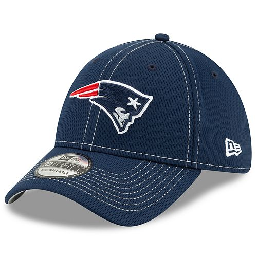 Men's New Era® New England Patriots 39Thirty On-Field Sideline Away Cap
