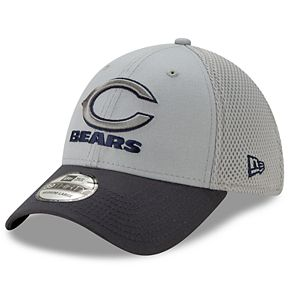 Men's New Era Chicago Bears 39Thirty Slice Gray NEO Cap