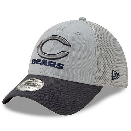 Men's New Era Chicago Bears 39Thirty Slice Gray NEO Cap