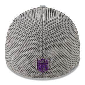 Men's New Era Minnesota Vikings 39Thirty Slice Gray NEO Cap