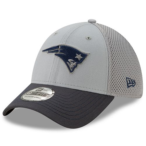 Men's New Era New England Patriots 39Thirty Slice Gray NEO Cap