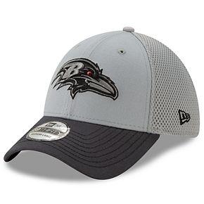 Men's New Era Balitmore Ravens 39Thirty Slice Gray NEO Cap