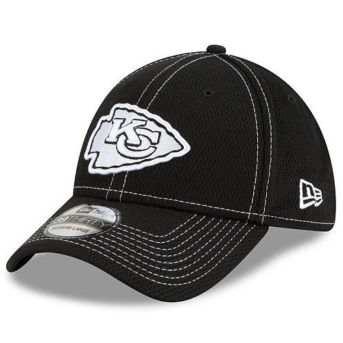 Men's New Era® Kansas City Chiefs 39Thirty On-Field Sideline Away Cap - Black
