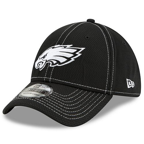 Men's New Era® Philadelphia Eagles 39Thirty On-Field Sideline Away Cap - Black