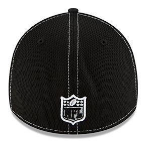 Men's New Era® Oakland Raiders 39Thirty On-Field Sideline Away Cap - Black