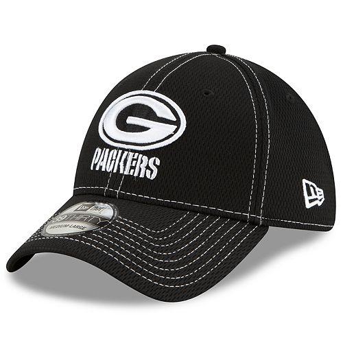 Men's New Era® Green Bay Packers 39Thirty On-Field Sideline Away Cap - Black