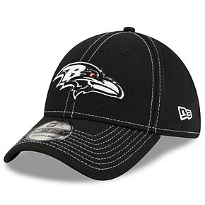 Men's New Era® Baltimore Ravens 39Thirty On-Field Sideline Away Cap - Black