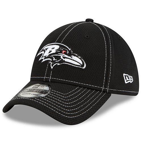 Men's New Era® Baltimore Ravens 39Thirty On-Field Sideline Away Cap - Black