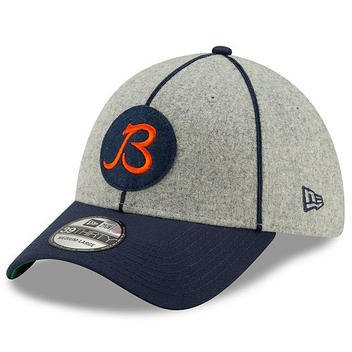 Men's New Era® Chicago Bears 39Thirty On-Field Sideline Home Cap 1920