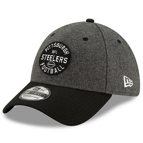 Men's New Era Pittsburgh Steelers 39Thirty On-Field Sideline Home Cap