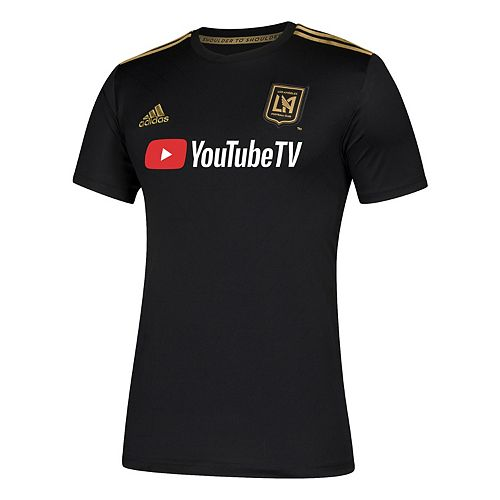 Men's adidas Los Angeles Football Club Replica Jersey Top