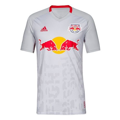 Men's adidas New York Red Bulls Replica Jersey Top