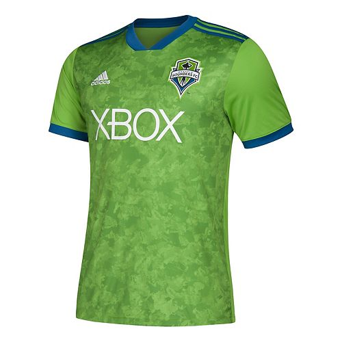 Men's adidas Seattle Sounders Replica Jersey Top