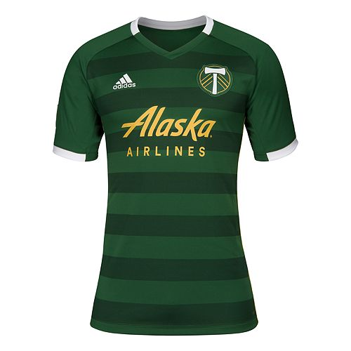 Men's adidas Portland Timbers Replica Jersey Top