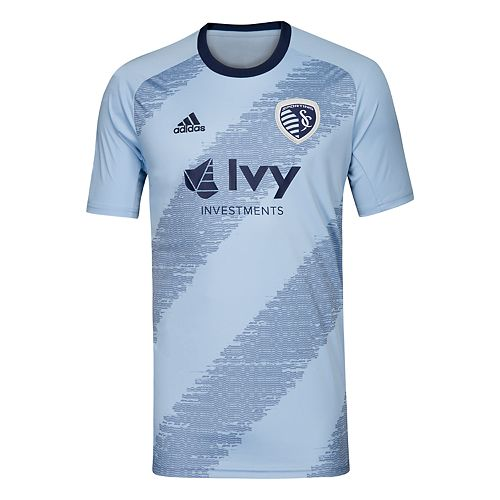 Men's adidas Sporting Kansas City Replica Jersey Top