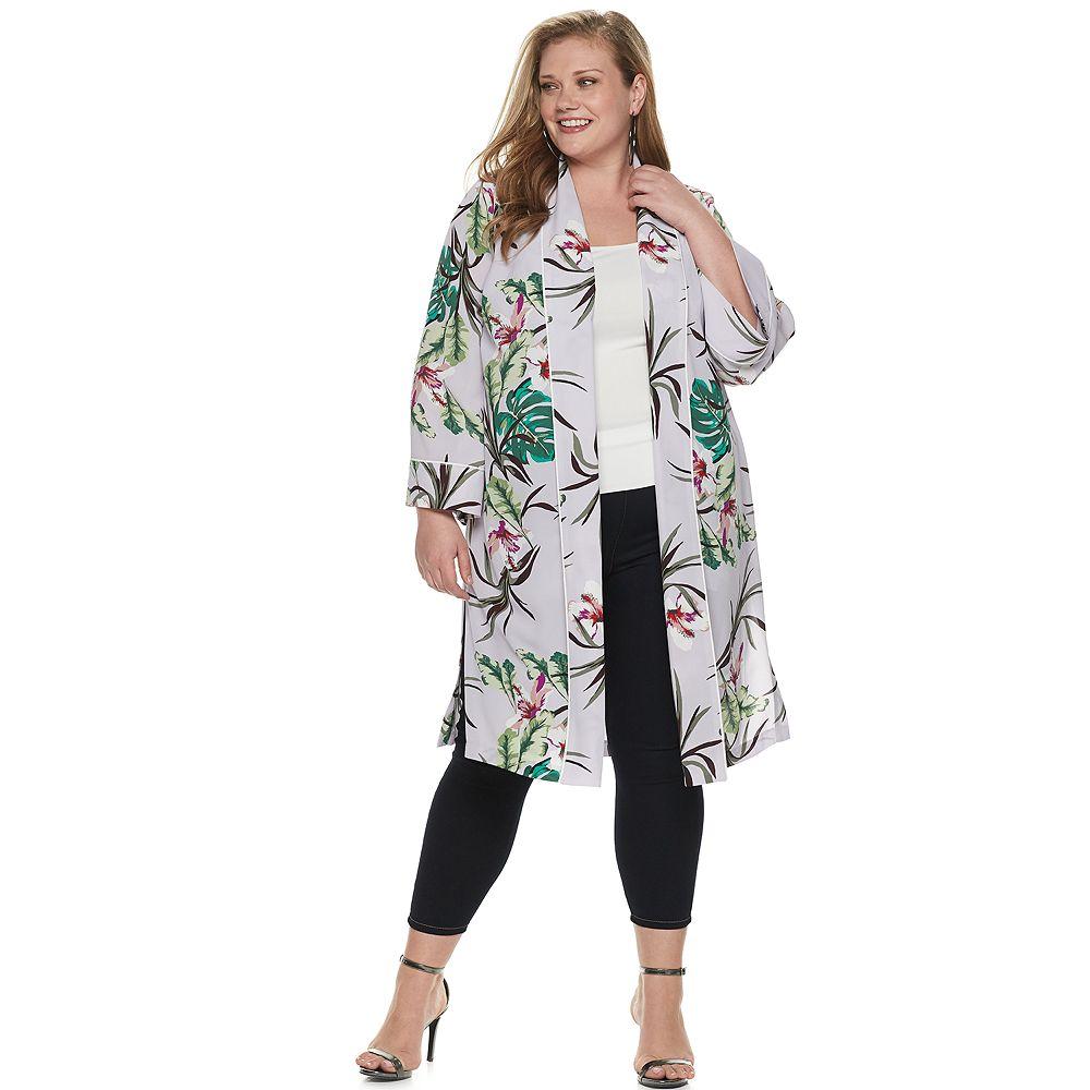 Plus Size Jennifer Lopez Kimono